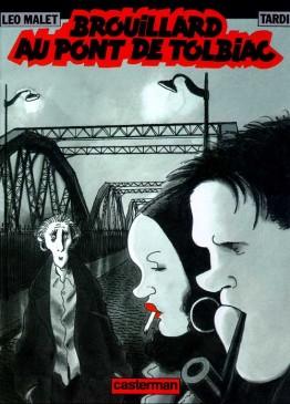 Nestor Burma - Brouillard sur le pont de Tolbiac - Couverture