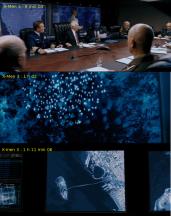 Dispositifs spaciaux dans X-Men 3