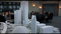 "3D model of the ""Delta City"" project / Maquette du projet ""Delta City"""