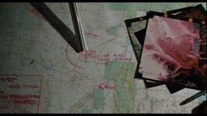 Commando's map / La carte du commando