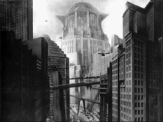 Urban shapes of Fritz Lang Metropolis/Les formes urbaines de Metropolis de Fritz Lang