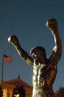 The Rocky Balboa statue / La statue de Rocky Balboa