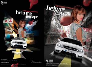 Source: http://www.behance.net/gallery/AMVBBDO-for-Mercedes-Escape-The-Map/3454857