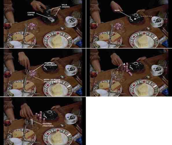 Kitchen table / La table de la cuisine