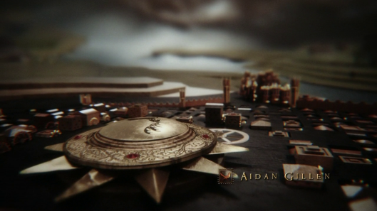 Generique du Trône de Fer / Opening sequence of Game of Thrones