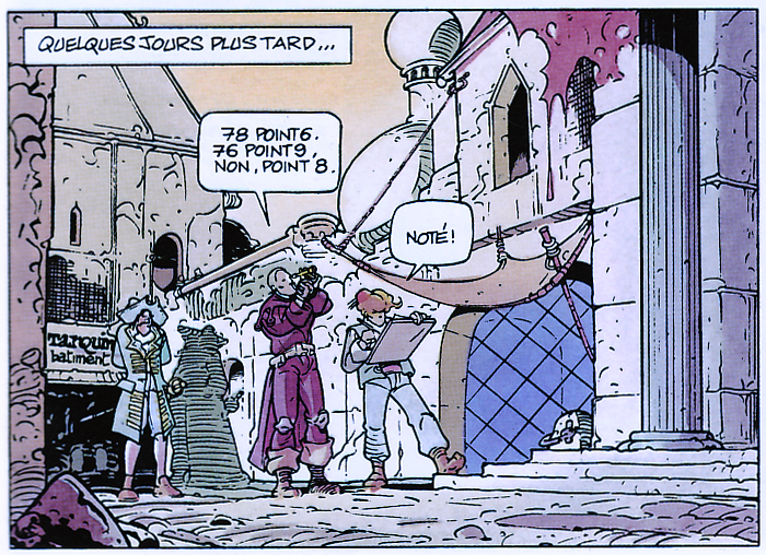 Les Maîtres Cartographes, Tome 2, planche 13