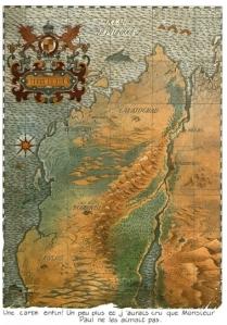 Carte de la Sodrovno-Voldachie