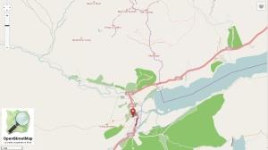 La région de Killin sur OpenStreetMap