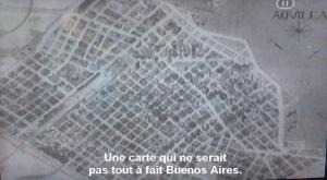 Le commentaire d'Hugo Santiago sur le plan d'Aquiléa