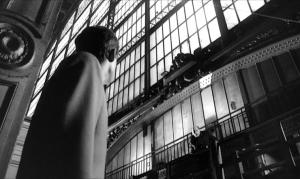 Une des scènes tournées à la gare d'Orsay