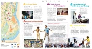 Page du site internet de l'exposition sur les villes de Jacques Demy (Copyright 2013, Cinémathèque française)