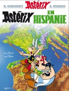 """Couverture de l'album """"Astérix en Hispanie"""""""