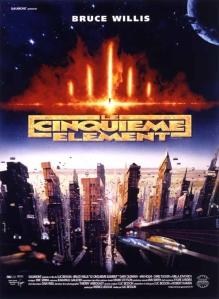 """Afiche du film """"Le Cinquième élément"""