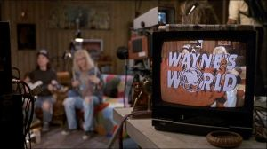 Wayne's World logo / Le logo de Wayne's World