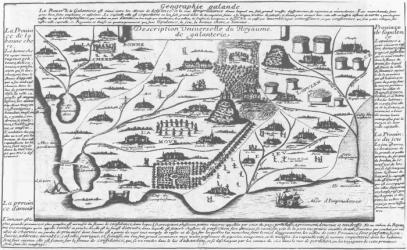 """""""Histoire du temps, ou Relation du Royaume de Coquetterie. Extraite du dernier voyage des Holandois aux Indes du Levant"""" de François Hédelin dAubignac, 1654)"""