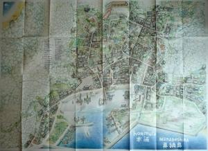 Carte-poster de Manabé Shima, Manabé Shima, © Florent Chavouet