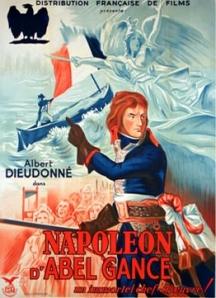 Affiche du film Napoléon d'Abel Gance (1927)