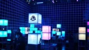 """(photo de l'exposition """"Jeu vidéo l'EXPO, copyright Cité Universcience, 2013)"""