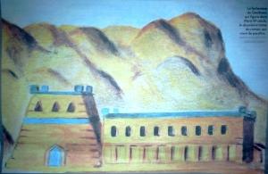 La forteresse de Gembaes qui figure dans Ward IIIe siècle. (copyright photo : collection Frédéric Werst, publié dans Libération du 1er mars 2014 disponible en partie ici).