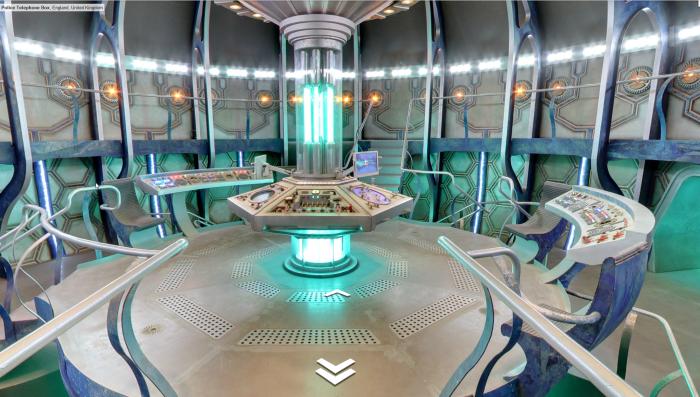TARDIS's control room / Salle de contrôle du TARDIS