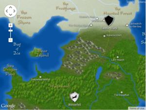 Westeros et Essos map / Carte de Westeros et Essos (Tower of the Hand))