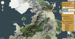 Westeros et Essos map (quartermaester.info) / Carte de Westeros et Essos (quartermaester.info)