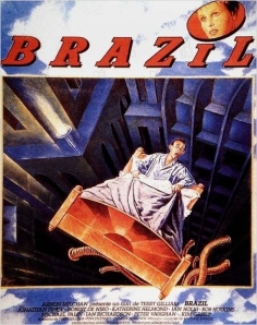 "Affiche du film ""Brazil"" (Copyright Embassy International Pictures et Universal Pictures)"