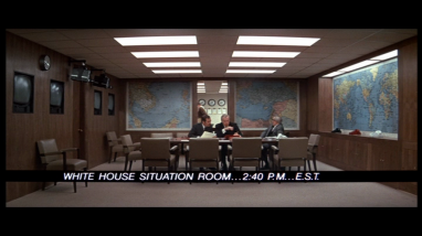White House situation room / Salle de crise de la Maison Blanche
