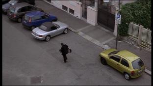 Arrival of the suspect / Arrivée du supect