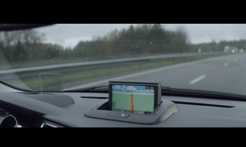La monotonie du parcours de VRP de Monsieur vu par son GPS