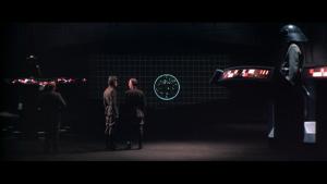 Death star targetting system / Système de visée de l'Étoile de la mort