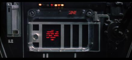 Luke's T-65 X-wing embedded computer / Ordinateur de bord du T-65 X-wing de Luke