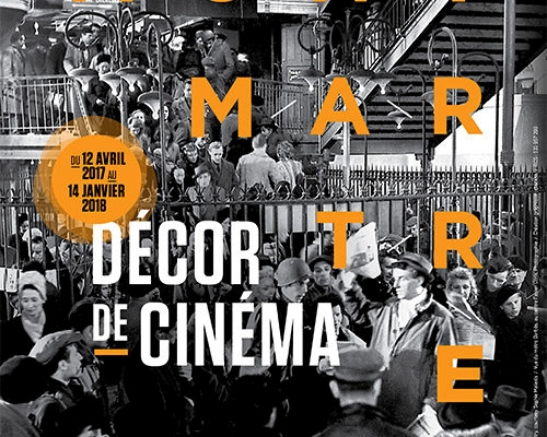 """Exposition """"Montmartre décor de cinéma"""" au Musée de Montmartre à Paris"""