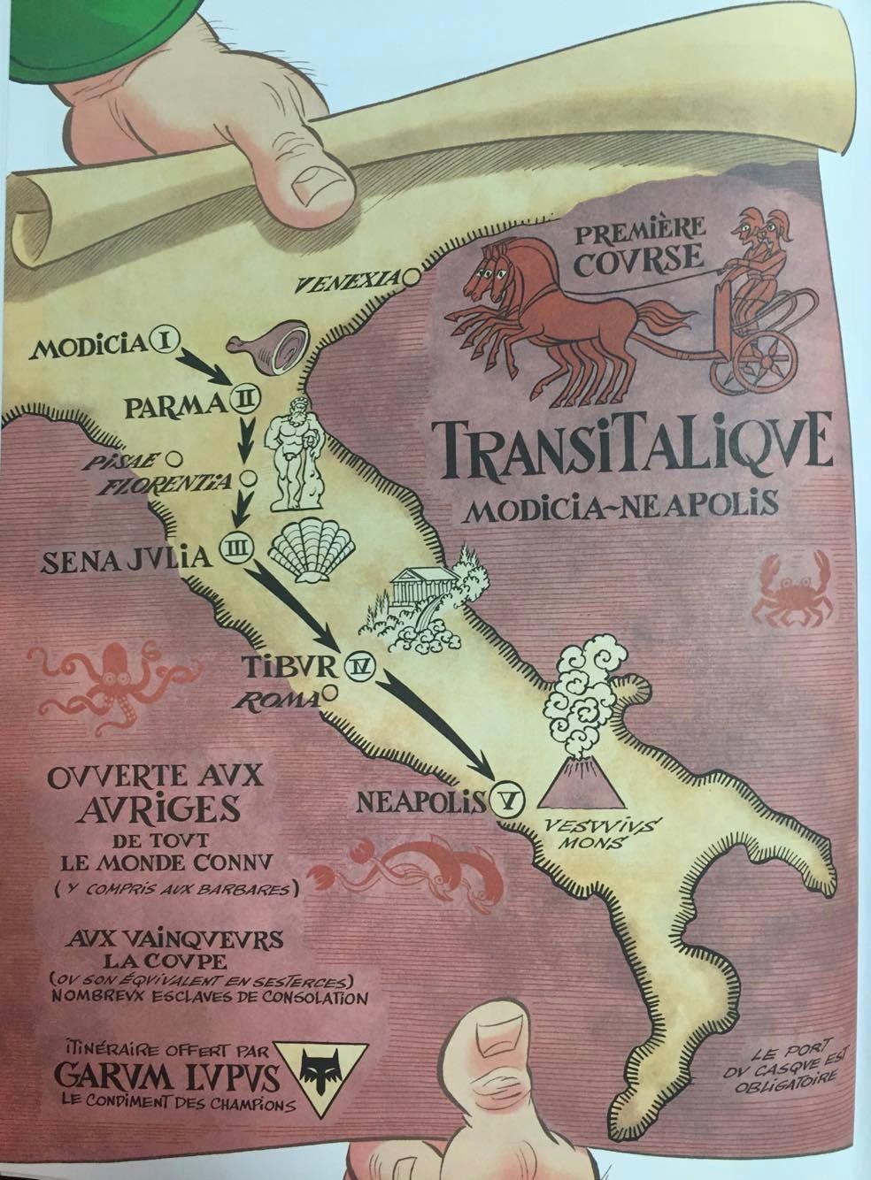 La carte manquante d'Astérix / The Asterix Missing Map