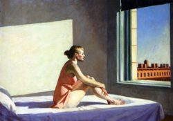 Morning sun d'Edward Hopper (Colombus Museum of Art), 1952