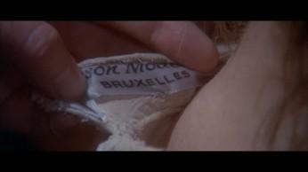 Fig. 4- L'étiquette du corsage de Gabrielle