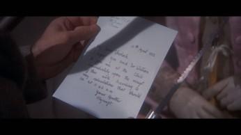 Fig. 8- La lettre de Mycroft