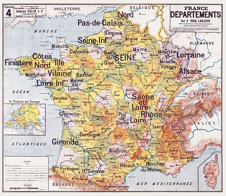 Citation : La carte des provinces perdues de Jerphanion